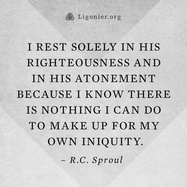 rest in his righteousness