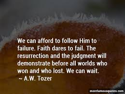 faith and failure