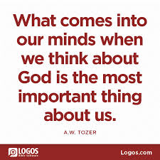 Tozer - think